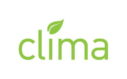 Το λογότυπο Clima της νέας γενιάς θερμομονωτικών συστημάτων της ALUMINCO