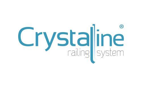 Το εμπορικό κατοχυρωμένο σήμα της προηγμένης σειράς καγκέλων Crystalline της ALUMINCO